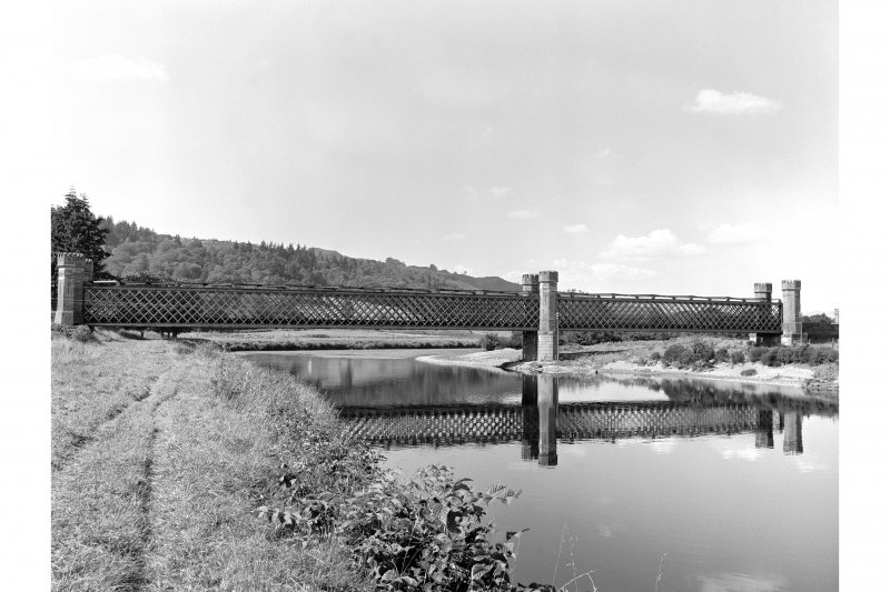 Dalguise Viaduct View from SSE showing SE front