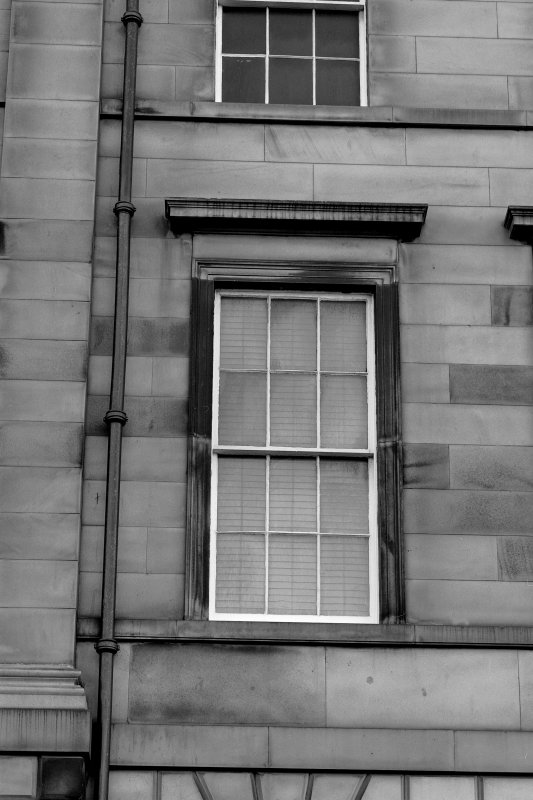Great King Street Detail of window from South