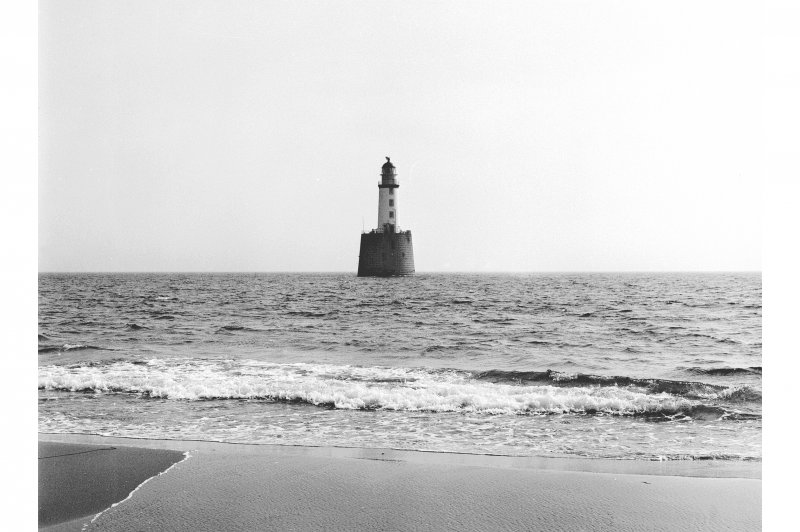 View of Rattray Head Lighthouse.