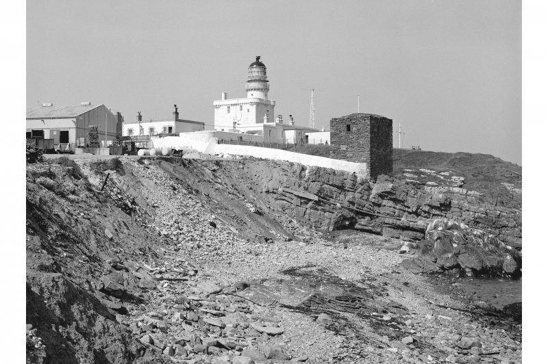 Kinnaird Head Lighthouse View of lighthouse complex