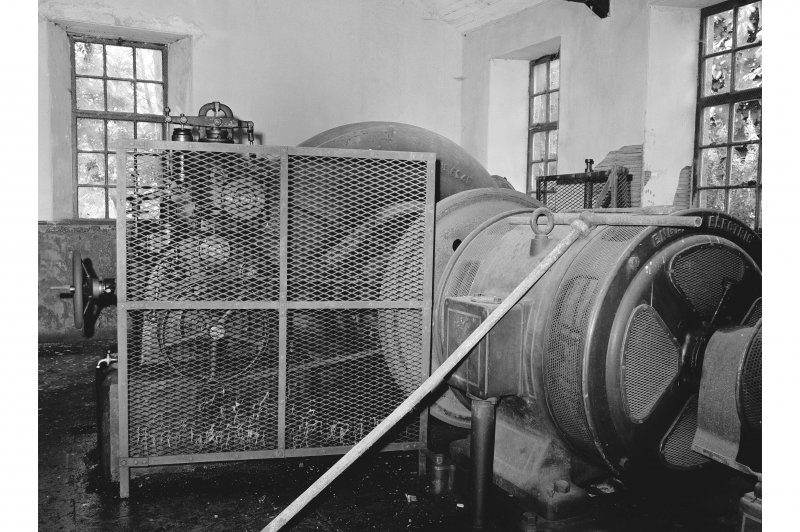 Garlogie Mills, Water Turbine and Generator General View