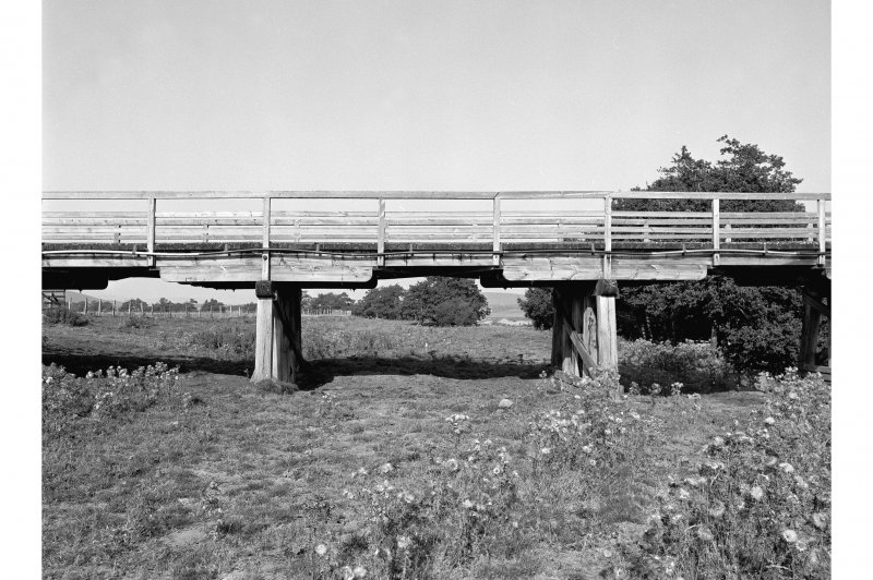 Broomhill Bridge View showing trestle piers