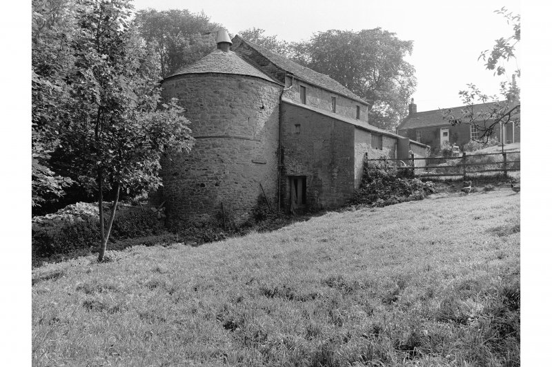 Barry, Upper Mill View from N showing kiln and WNW front