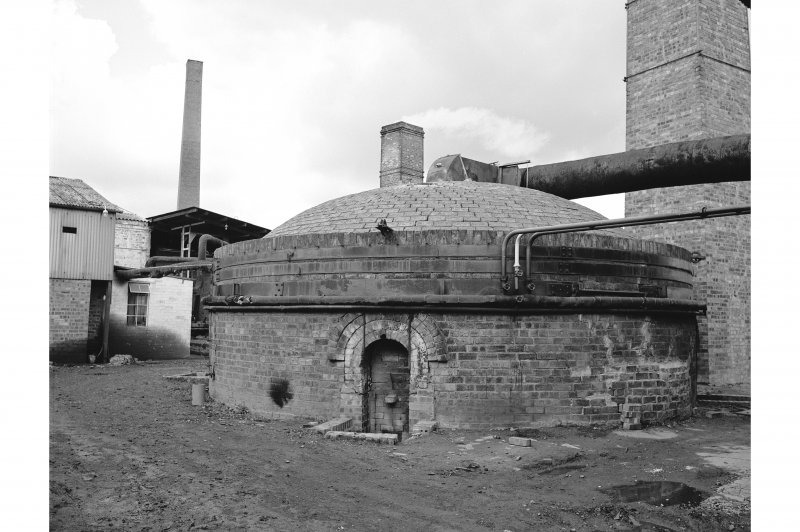 Inchcoonans Tile Works View from SE showing circular kiln