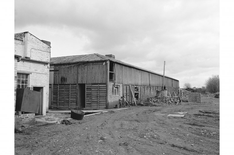 Inchcoonans Tile Works View showing drying shed