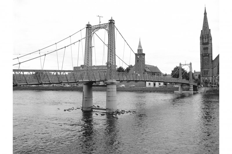 Inverness, Greig Street Bridge General View