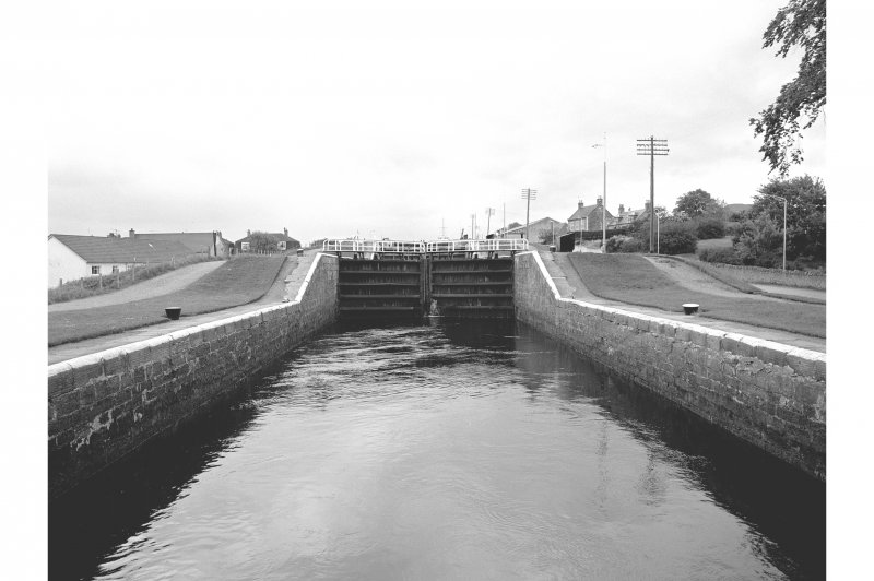 Inverness, Caledonian Canal, Muirtown Locks General View