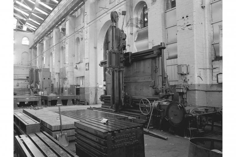 Paisley, Renfrew Road, Vulcan Works, Interior View of Horizontal and Vertical Planing Machine by Thomas Shanks, Fullerton, Hodgart and Barclay