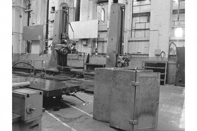 Paisley, Renfrew Road, Vulcan Works, Interior View of Horizontal Drills