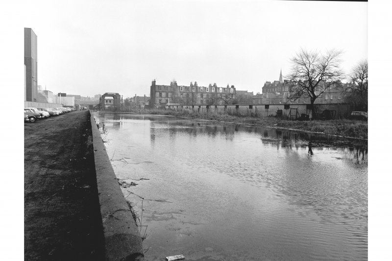 Union Canal, Lochrin Basin General View