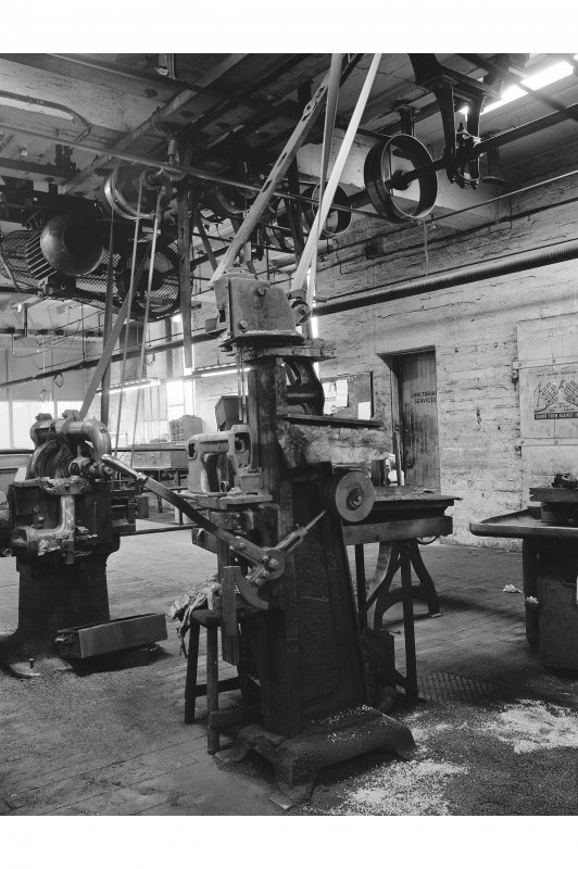 Glasgow, Singer Works, Industrial Dept View of milling machinery