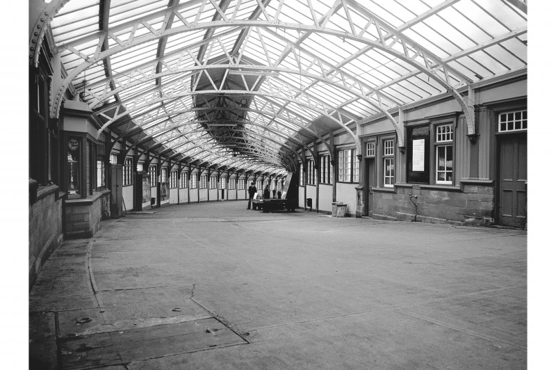 Wemyss Bay Station; Interior General View