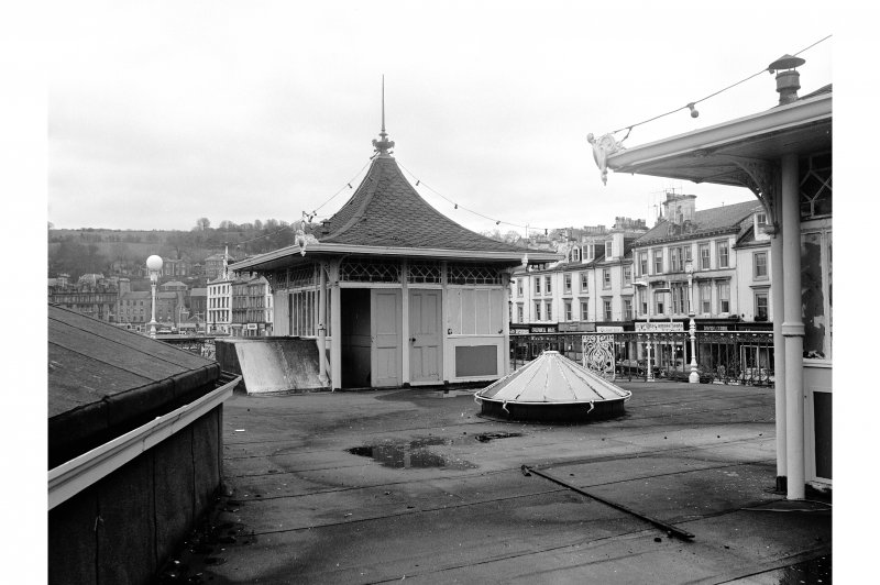 Bute, Rothesay, Winter Gardens View of upper storey on pavilion