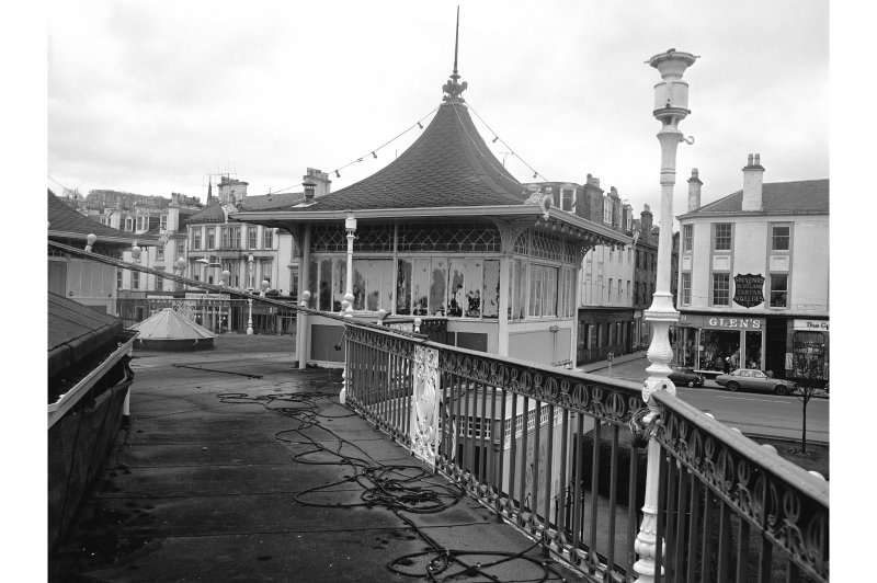 Bute, Rothesay, Winter Gardens View on upper storey