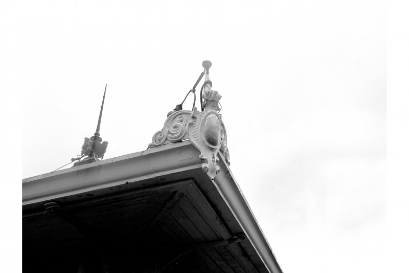Bute, Rothesay, Winter Gardens View of specimen angle finial