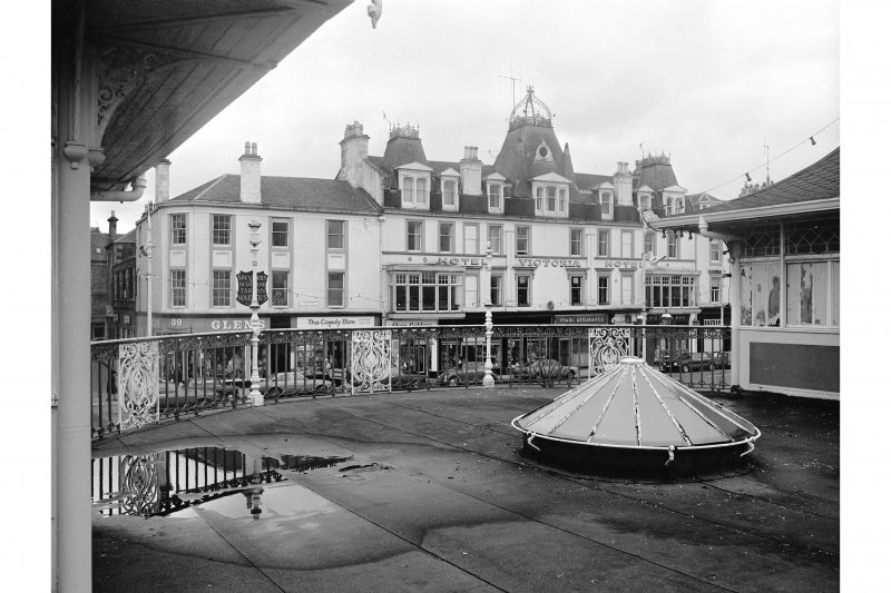Bute, Rothesay, Winter Gardens View from upper storey