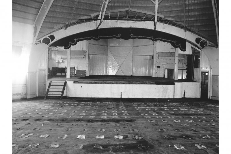 Bute, Rothesay, Winter Gardens; Interior View in auditorium