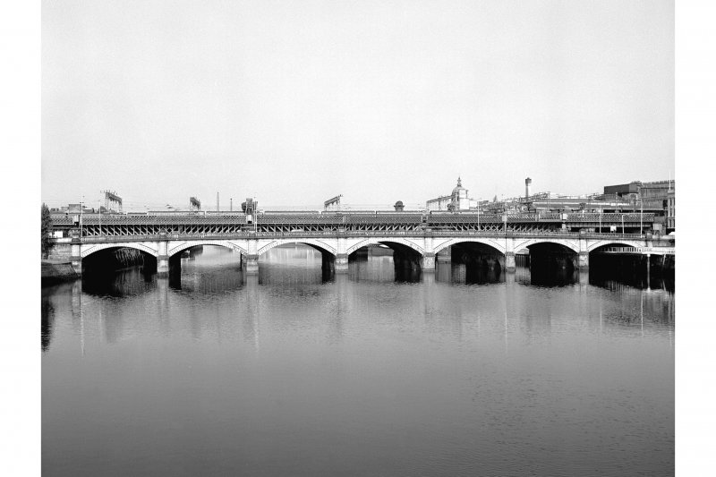 Glasgow, Glasgow Bridge View from ESE showing ESE front