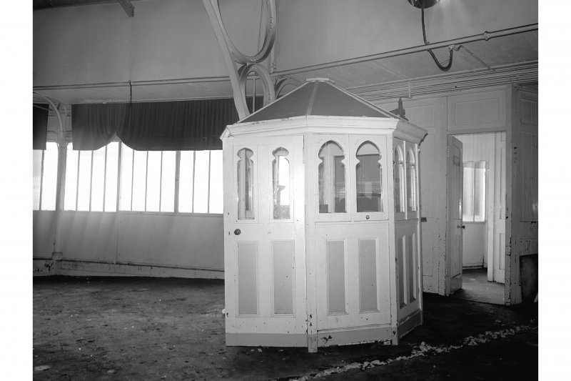 Bute, Rothesay, Winter Gardens; Interior View of auditorium