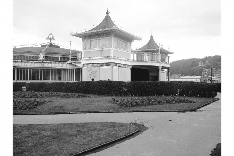Bute, Rothesay, Winter Gardens View of frontage