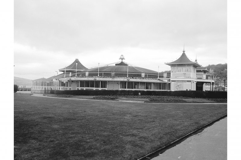 Bute, Rothesay, Winter Gardens General View