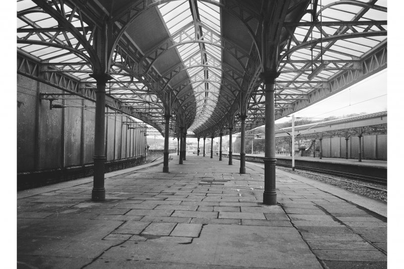Wemyss Bay Station View of Platform and awning