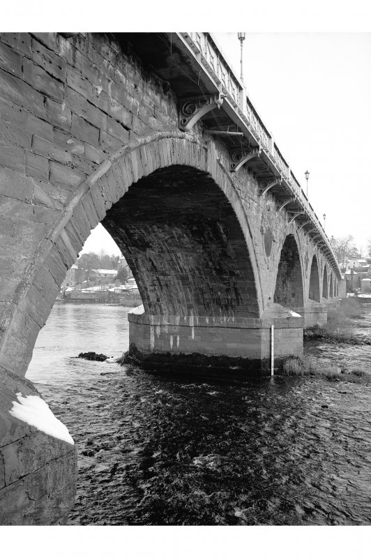 Perth Bridge Detailed view of arch
