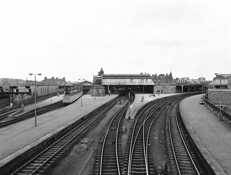 Perth, Leonard Street, General Station General view from SSE