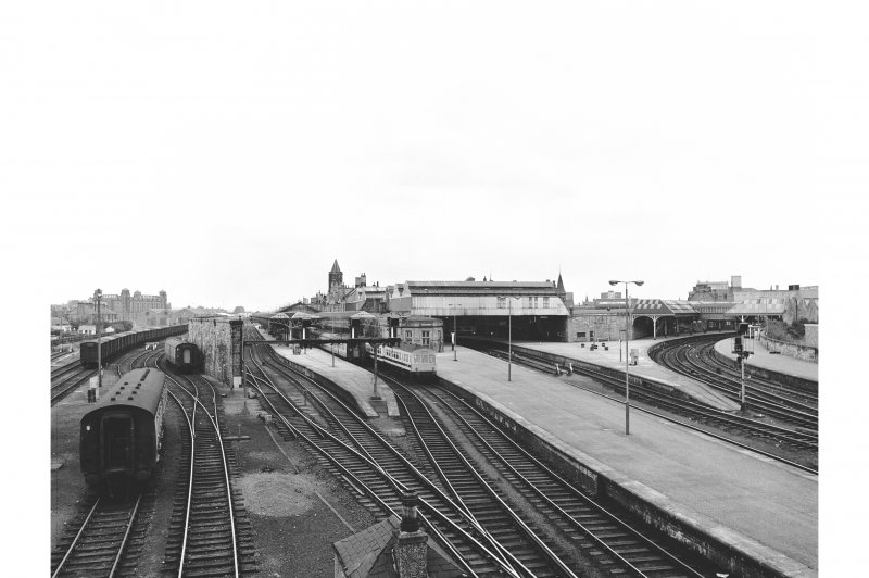 Perth, Leonard Street, General Station General view from S