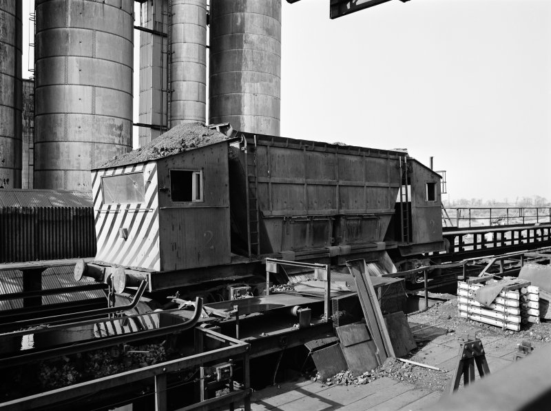 Glasgow, Clyde Iron Works View showing transfer car