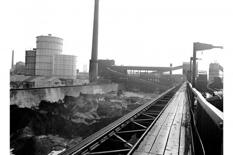 Glasgow, Clyde Iron Works View showing ore stockyard