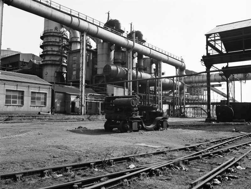 Glasgow, Clyde Iron Works View showing dust plant for number 1 furnace
