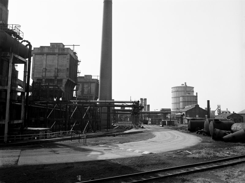 Glasgow, Clyde Iron Works View showing coke ovens