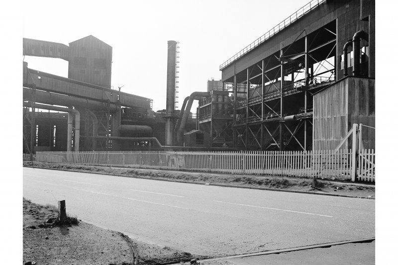 Glasgow, Clyde Iron Works View showing sinster plant