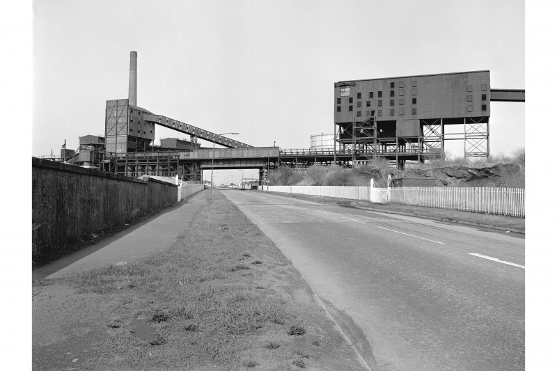 Glasgow, Clyde Iron Works View showing ore bunkers and sinster plant