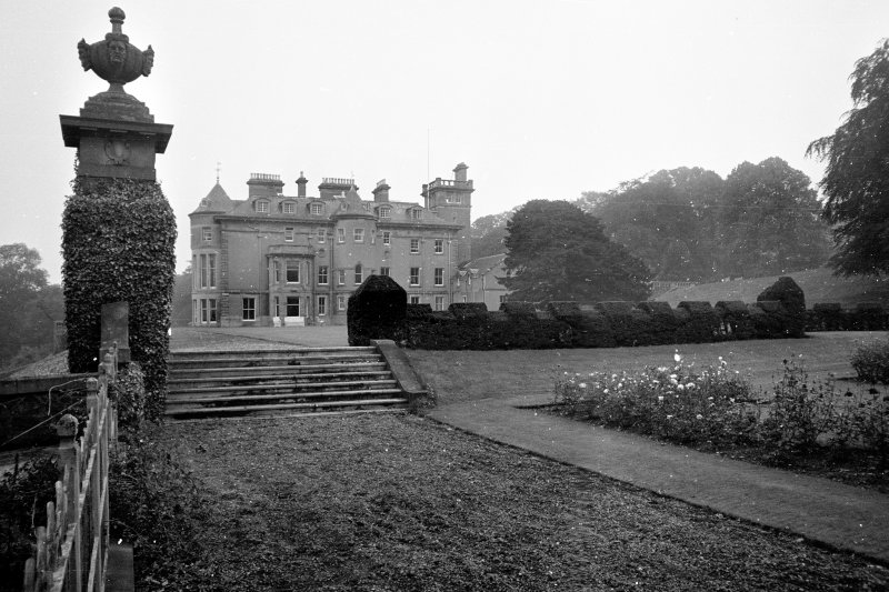 Finlaystone House. Entrance front.