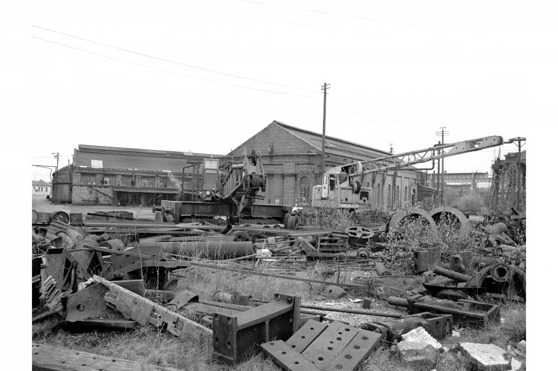 Glengarnock Steel Works General view of smithy and engineer's shop