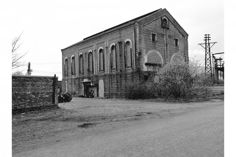 Glengarnock Steel Works, Old Power Station General View