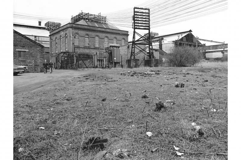 Glengarnock Steel Works View of power station and rolling mill
