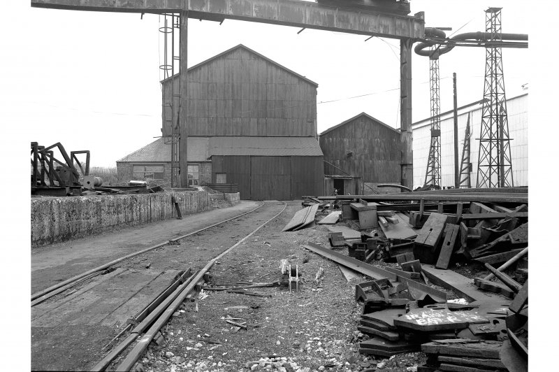 Glengarnock Steel Works, Roll Turning Shop General View