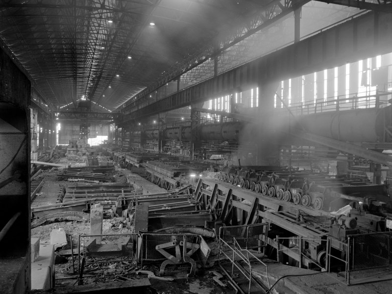 Glengarnock Steel Works, Rolling Mill View of Hydraulic Accumulators