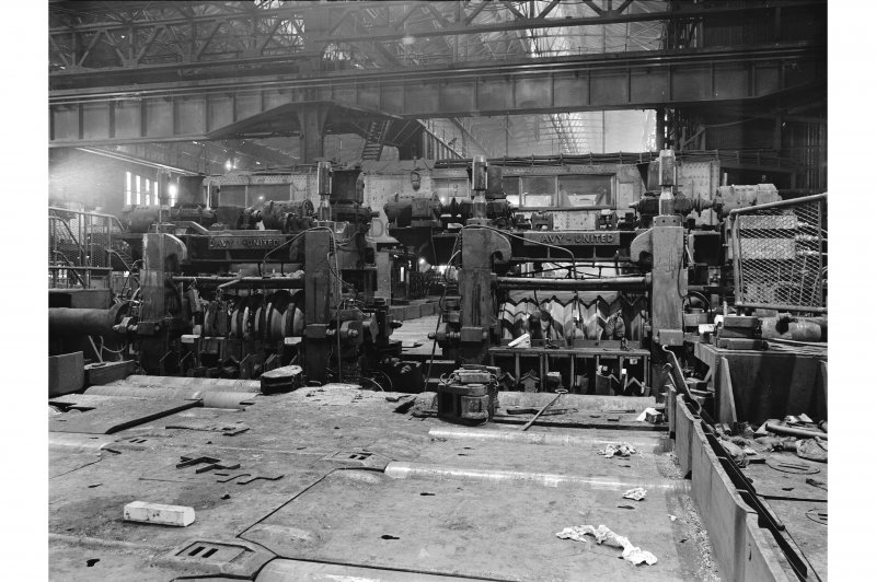 Glengarnock Steel Works, Finishing Stands General View