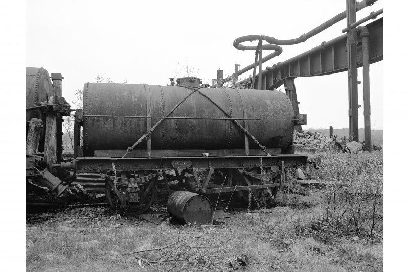 Glengarnock Steel Works View of disused tank wagon