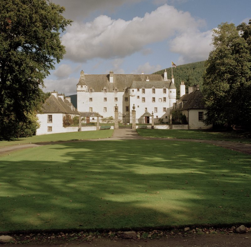 View of Traquair House, the Scottish Borders, from South-West.
