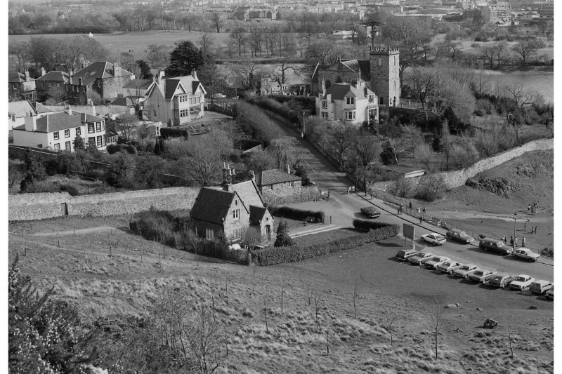 Duddingston Village General view from West