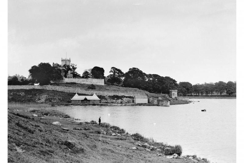 Duddingston View of Loch and Church