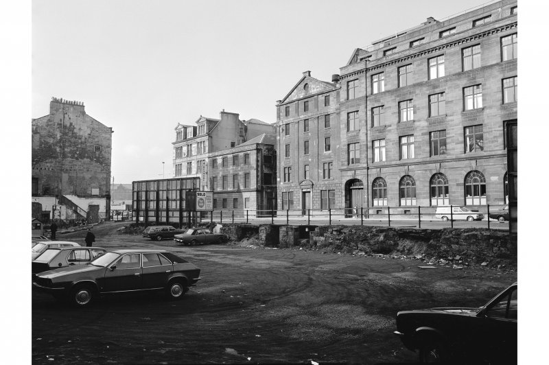 Glasgow, Oswald Street, Bonded Stores View from NE showing E front of bonded stores with part of numbers 15-31 on right