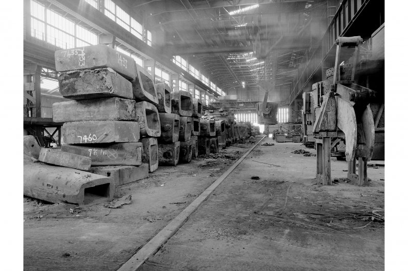Hallside Steelworks, Interior View showing pit side