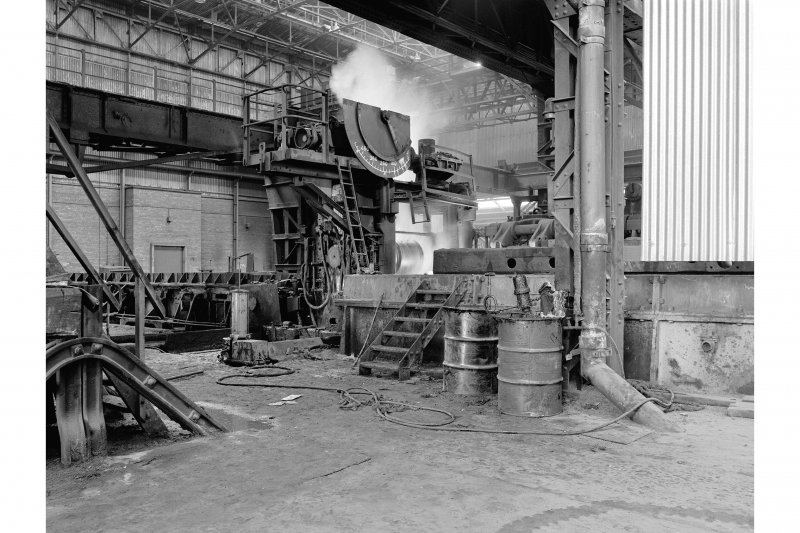 Hallside Steelworks, Interior View showing cogging mill (old housing)