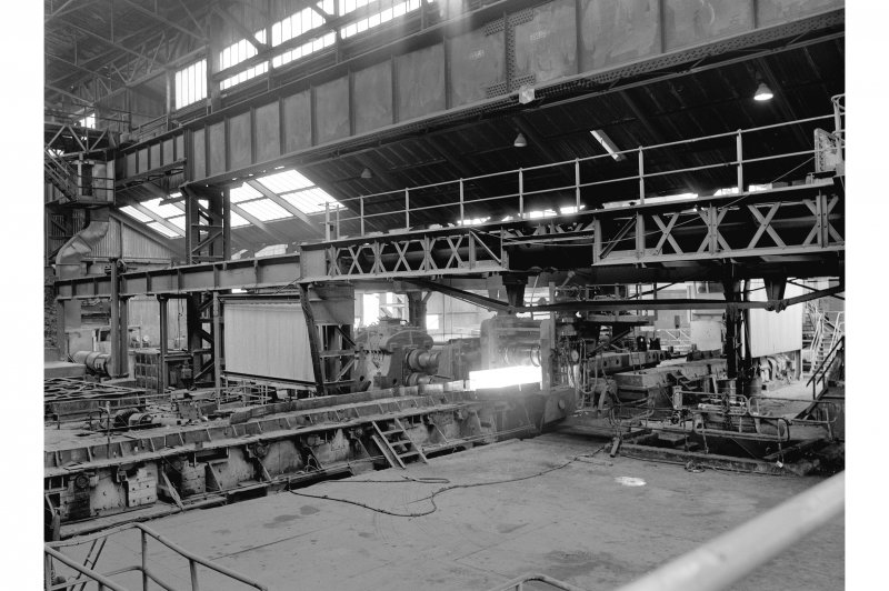 Hallside Steelworks, Interior View showing cogging mill